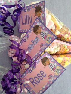 Doc mc stuffins party  Party Bags for Kids - Milton Keynes  07799 434226 Crofty75@aol.com 07799434226
