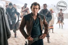"[NEW SOLO] Solo A Star Wars Story new still ""Space Cowboy"" #StarWars #Solo"