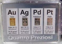 1 Gram Pure Gold, Silver, Palladium, Platinum 4 TOTAL GRAMS!!! - http://coins.goshoppins.com/bullion/1-gram-pure-gold-silver-palladium-platinum-4-total-grams/