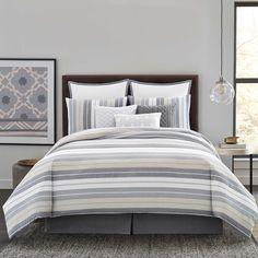 Real Simple® Tyler Comforter Set in Grey Ivory - Bed Bath  amp  Beyond 78a685af1dd6