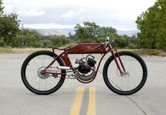 turn of the 20th century motorcycles | Sportsman Flyer :: Handcrafted Board Track Motorbikes (2)