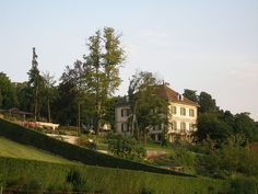 The Villa Diodati is a manor in Cologny close to Lake Geneva. It is most famous for having been the summer residence of Lord Byron, Mary Shelley, Percy Shelley, John Polidori and others in 1816, where the basis for the classical horror stories Frankenstein and The Vampyre was laid.