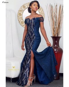 Look at this Classy womens african fashion 2132366141 African Bridesmaid Dresses, African Wedding Attire, African Lace Dresses, Latest African Fashion Dresses, African Dresses For Women, African Attire, African Wear, Modern African Dresses, Ankara Fashion