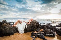 Trash the Dress Beach Photography by Penny Palmer Photography #Maui #Hawaii #weddings
