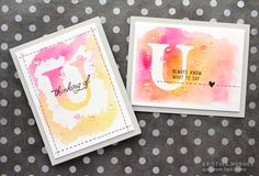 Double Masked Watercoloring + video (using die cut (+ & -), masking paper and masking fluid)