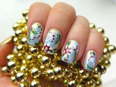 4 piękne zdobienia paznokci na święta Bożego Narodzenia | Cienistość.pl
