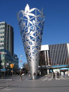 One of the artistic architecture in Christchurch, New Zealand. . . .