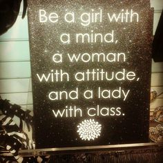Be a girl with ...