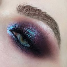 Wanted to share something whimsical with you 🤤 ⠀ Makeup used: Oracle palette, shades… Makeup Eye Looks, Eye Makeup Art, Cute Makeup, Glam Makeup, Pretty Makeup, Makeup Inspo, Eyeshadow Makeup, Makeup Inspiration, Hair Makeup