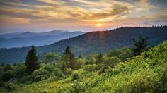 Great Smoky Mountains National Park in western North Carolina