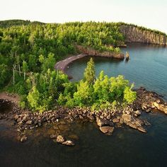 Tettegouche State Park on the north shore of Lake Superior.