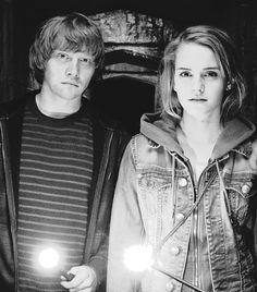 harry potter, ron and hermione