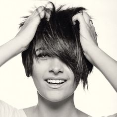 Paris Jackson. I'm not one for short hair, usually. But if there's a short hair cut that I love, its hers.