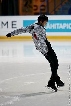 Japanese figure skater: Yuzuru Hanyū (羽生 結弦)