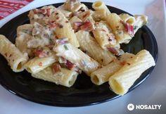 Tejszínes mángold szósz   NOSALTY Rigatoni, Tortellini, Ravioli, Gnocchi, Potato Salad, Potatoes, Ethnic Recipes, Food, Eten