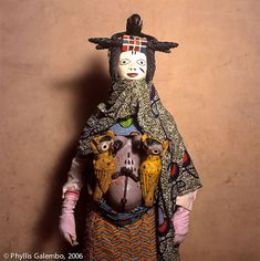 "Africa | From the exhibition ""Egungun and Gelede Masquerade"".  Benin 2006 