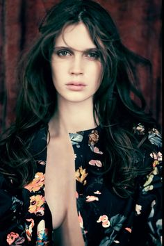Smile: Marine Vacth in Vogue Italia January 2014 by Paolo Roversi