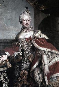 ca. 1750 Bernhardine Christiane Sophie von Sachsen-Weimar (1724-1757)