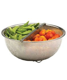 Duo Sectional Colander | Real Simple's mission, through its 16 years, has been to simplify your life with smart finds like these.