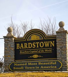 Visit Bardstown in Kentucky to see one of my best friends