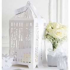 Beautiful Birdcage Post Box for wedding cards
