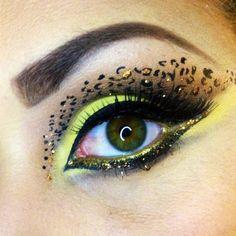 Ojos de leopardo...