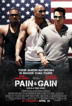 Pain & Gain stars Mark Wahlberg, Dwayne Johnson, and Anthony Mackie!