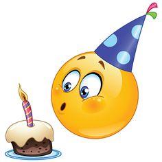 Birthday Smiley for Facebook