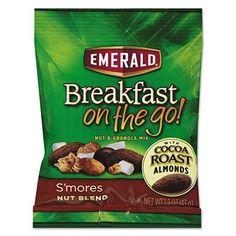 Emerald Trail Mix, S'mores (1.5 oz. bag, 8 pk.)