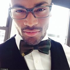 Next big thing: Now, thanks to his appearance and triumph on America's Next Top Model, Keith Carlos...