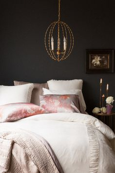 Bella Notte Linens - Luxury Bedding, one of these to luxuriate, sleep, and dream in ~ yes! Bedding Sets Online, King Bedding Sets, Comforter Sets, Luxury Duvet Covers, Luxury Bedding, Black Bedroom Decor, Bedroom Images, Bedroom Designs, Luxurious Bedrooms