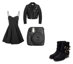 """""""New Years"""" by vampirecookie on Polyvore featuring Glamorous, Yves Saint Laurent and Rupert Sanderson"""