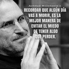 #Repost @actitudmillonaria  #ActitudMillonaria #stevejobs #emprendedor #emprender #frases #motivación #miedo #miedos #mentesmillonarias #luxury #lujos #