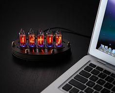 Cool DIY: Nixie Tube Clock Kit with an Alarm Function