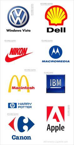 Logos diferentes modos
