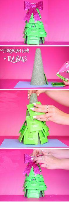 Herbal Tea Tree | Crafty Christmas Gift Ideas DIY Projects