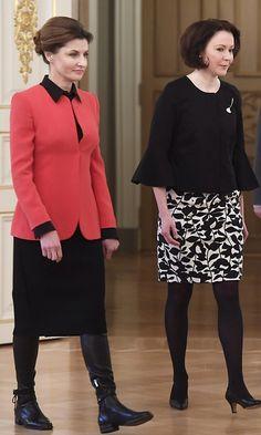 Jenni Haukio 40 vuotta – näin presidentin puoliso on muuttunut Royal Clothing, Mtv, Bodice, Jenni, Lady, Finland, Blouse, Womens Fashion, Presidents