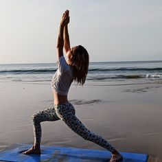 Yoga Asana - Ashtanga Yoga Posture Veer Bhadrasana 200 Hour Yoga Teacher Training India at Mantra Yoga School Goa