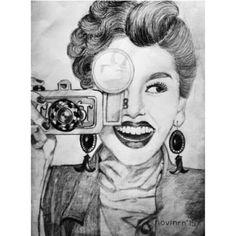 Kim and camera
