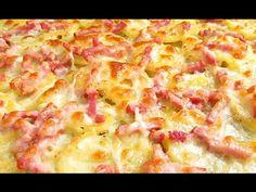 Papas al horno con queso y bacon | Cocina