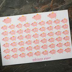 52 Week Savings Challenge Stickers  for Erin Condren Life Planner, Plum Paper Planner, Filofax, Kikki K, Calendar Scrapbook HF-404 by adrianapiper on Etsy