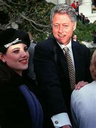 Monica Lewinsky and Pres. Clinton
