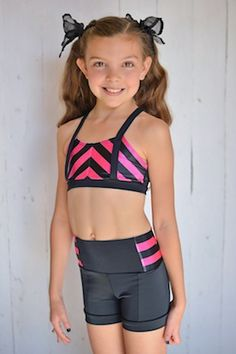 0fdbdd3e6383b4 Pink Chevron High Waist McKenna Set – Lexi-Luu Designs Inc. Online Store All