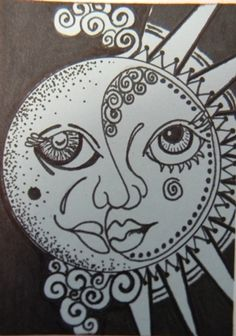 """ND-089-83, """"Nydia Dominguez"""", """"ACEO-Winter Nights"""", $10usd. """"Winter Art"""""""