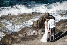 A #wedding by the sea at Villa Sant'Andrea, #Sicily.