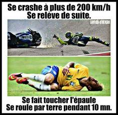 Se crashe à plus de 200 km/h se relève de suite ! se fait toucher l'épaule se roule par terre pendant 10 minutes ! #humour #blague