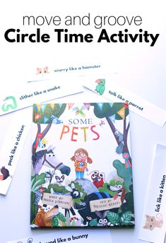 Circle time activity and lesson plan for preschool and daycare. Great for preschool and prek Circle time activity and lesson plan for preschool Easter Activities For Preschool, Circle Time Activities, Rhyming Activities, Preschool Lesson Plans, Preschool Classroom, Learning Activities, Pet Theme Preschool, Preschool Winter, Preschool Projects
