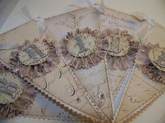 Wedding Banner  French Vintage Inspired by TheNestinSLT on Etsy
