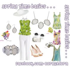 Spring Time basics . . ., created by sdmoore on Polyvore
