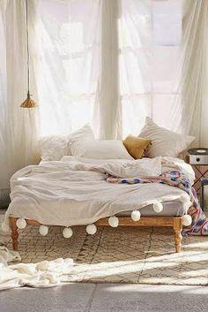 Boho Chic: Beds